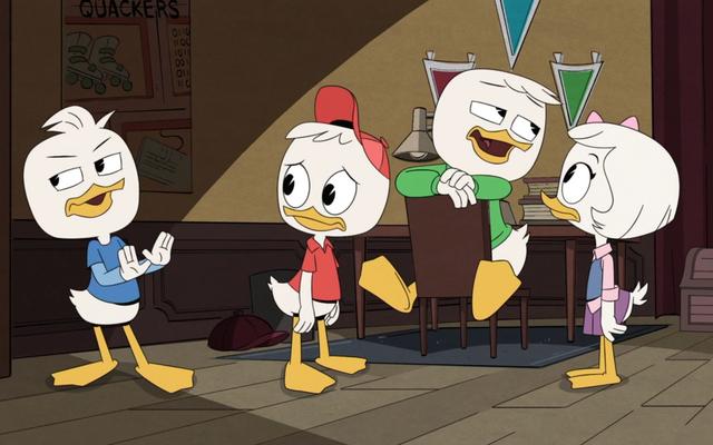 Les neveux se sont séparés sur trois mini-aventures différentes pour un DuckTales idiot mais gratifiant