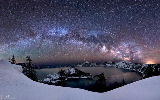 Cómo ver la lluvia de estrellas de líricas de esta noche