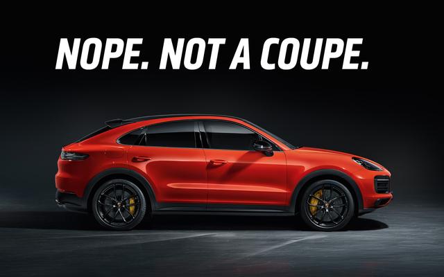 Le Porsche Cayenne Coupé 2020 n'est pas un coupé, mais encore plus proche que certains