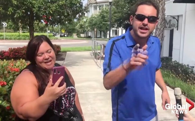 州がCovid-19震源地になると、フロリダレストランでアンチマスクバカが集結