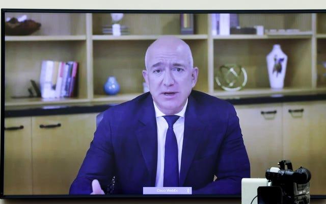 Jeff Bezos dit au Congrès qu'il `` ne peut pas garantir '' qu'Amazon ne viole pas ses propres politiques pour saper les vendeurs