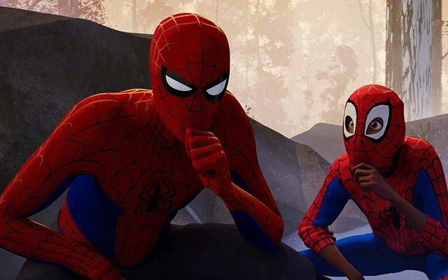 Cómo la historia del origen de Spider-Man se convirtió en una parte integral, pero inesperada, de Into the Spider-Verse
