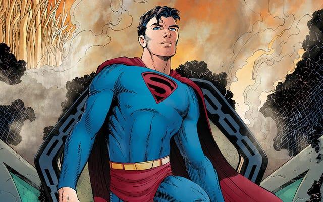 Frank Miller dan John Romita Jr. bersatu kembali dalam eksklusif Superman: Year One ini