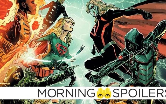 De nouvelles images de plateau révèlent les versions méchantes de Green Arrow et Supergirl dans le crossover DC de CW