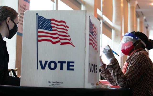 共和党は、豊富で広範囲にわたる有権者抑制の選挙計画に決着をつける