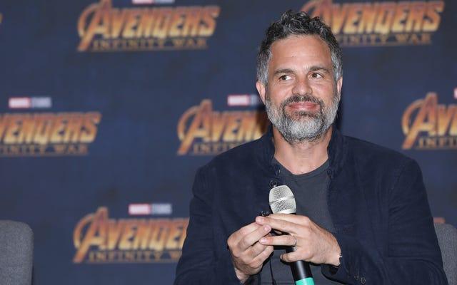 """Mark """"Loose Lips"""" Ruffalo a filmé une scène de mort dans Infinity War parce qu'on ne peut pas lui faire confiance"""