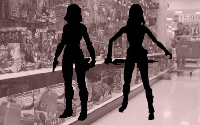 Marvel gặp vấn đề nghiêm trọng trong việc buôn bán các nhân vật nữ