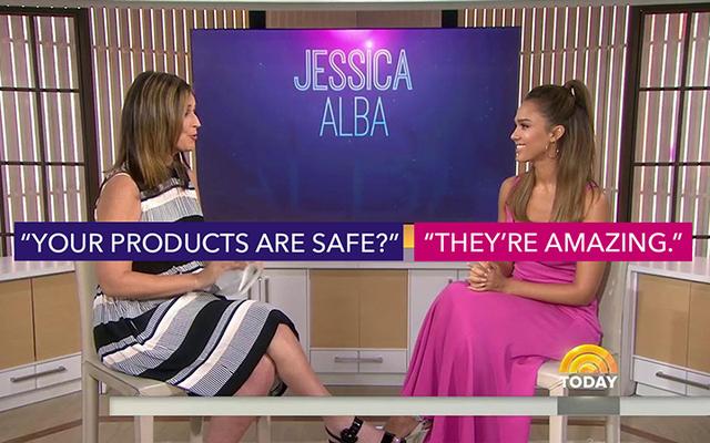 ジェシカアルバの正直な会社の製品は安全ではないかもしれませんが、それらは間違いなく素晴らしいです
