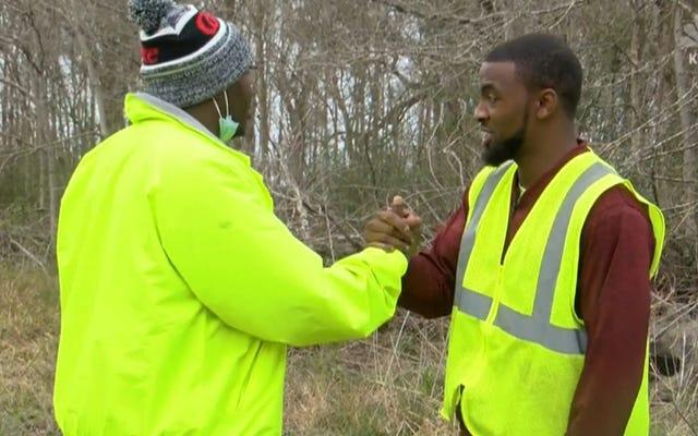 2人のルイジアナ州の衛生労働者が誘拐犯を逃亡から阻止することで誘拐された10歳を救う