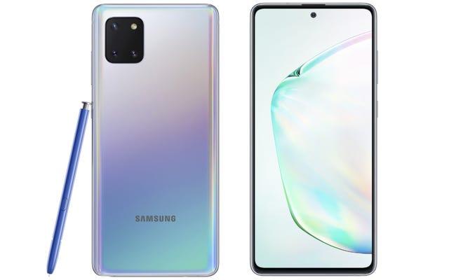 Galaxy Note10とGalaxyS10のLiteバージョンがここにあり、それらは約束します