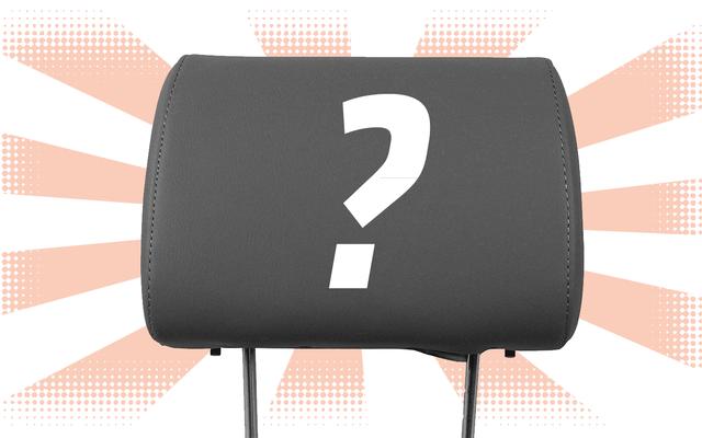 簡単な質問:運転中にヘッドレストを使用したことがありますか?