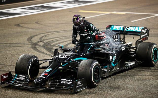 La Formula Uno ottiene il suo primo assaggio di carburante sostenibile