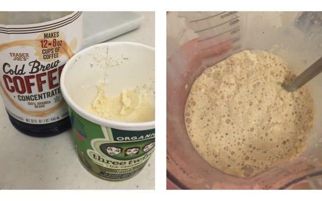 Combinez la crème glacée et l'infusion froide pour un délicieux remontant