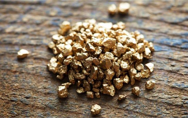 Come si è formato il deposito da cui esce il 40% dell'oro mondiale