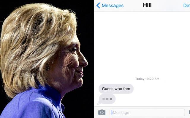 Hillary Clinton annoncera son choix de vice-président par SMS cet après-midi