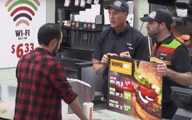 Новая реклама Burger King нарушает сетевой нейтралитет менее чем за 3 минуты