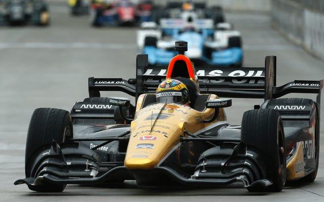 混沌としたインディカーデトロイトレースで2人の代役ドライバーがトップ6でフィニッシュ