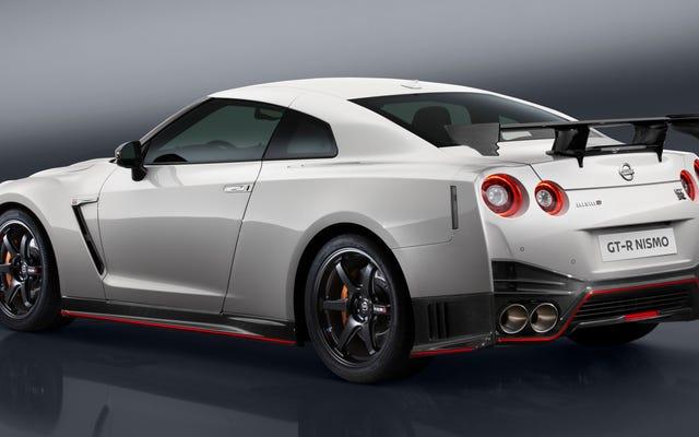 2017 Nissan GT-RNismoが600馬力ですべてのお尻を蹴ります