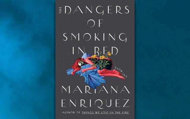 Tanto los vivos como los muertos acechan las inquietantes historias de Los peligros de fumar en la cama
