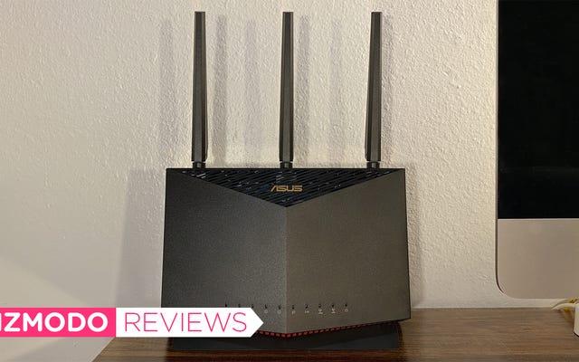 Asus RT-AX86U là bộ định tuyến Wi-Fi 6 không hy sinh nguồn điện