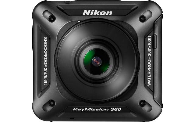 ニコンのアクションカメラはパーティーに遅れていますが、非常に身なりが良い