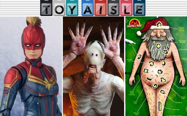 Capitán Marvel obtiene una figura de acción increíble y más de los juguetes más Kickass de la semana
