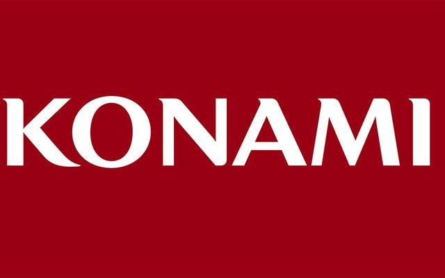 Konami no ha cerrado su división de videojuegos