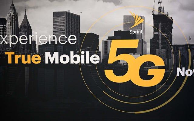 ニューヨーク、ロサンゼルス、DC、フェニックスでの発売により、スプリントは5Gの重要なマイルストーンに到達します