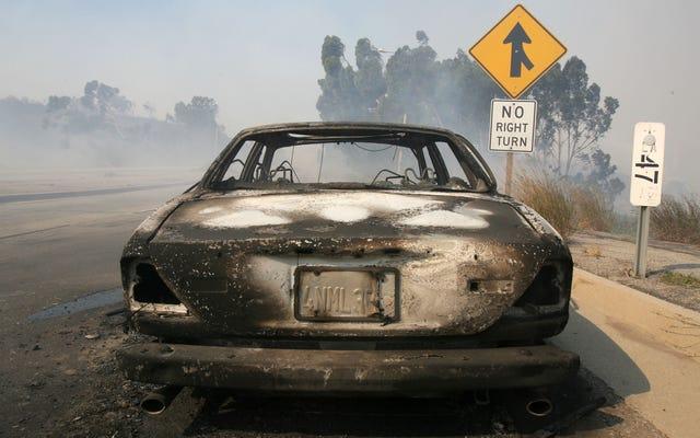 車の火災を防ぐ方法