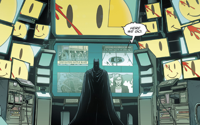 इस सप्ताह का बैटमैन डीसी के पुनर्जन्म और चौकीदार के बारे में अगला बड़ा सुराग रखता है