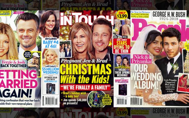 Tabloids'de Bu Hafta: Bu Varolmayan Brad ve Jen Haber Döngüsü Hangi Cehennem Çemberi?