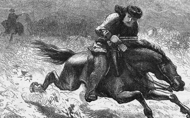 男を求める女のサイモン・リッチがポール・リビアの馬の悲劇的な自伝を書いた