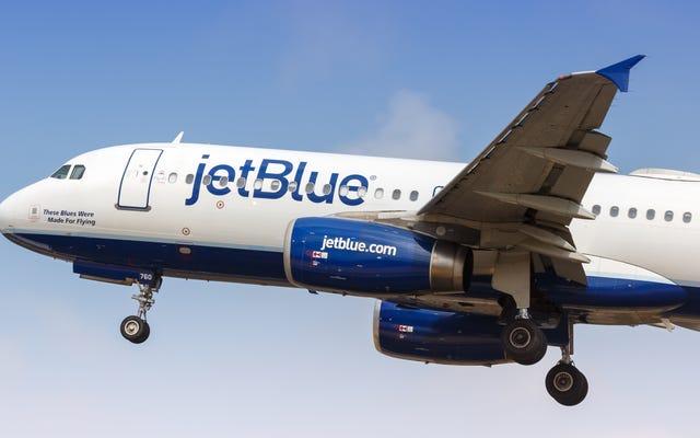รับตั๋วเที่ยวเดียวบนเที่ยวบิน JetBlue ในราคาเพียง $ 44