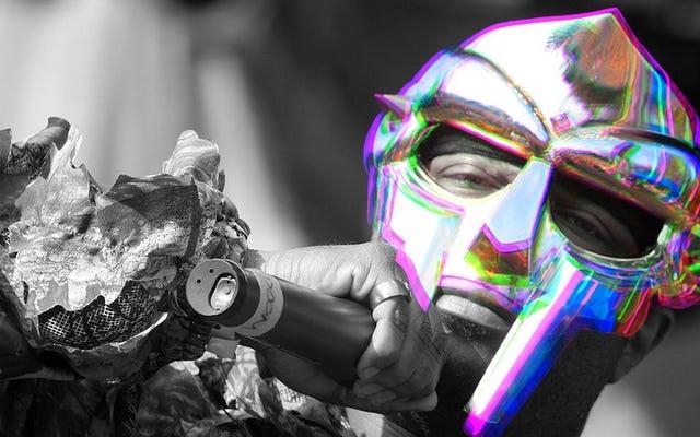 60分でMFドゥームの多くの顔(とマスク)に会います