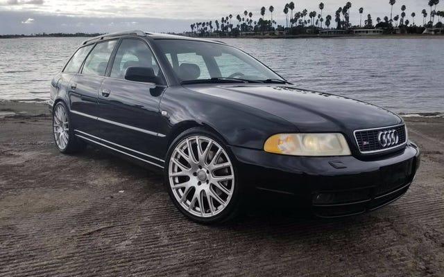 ในราคา 6,500 เหรียญสหรัฐ Audi S4 ปี 2001.5 นี้คุณจะวนรถของคุณหรือไม่?