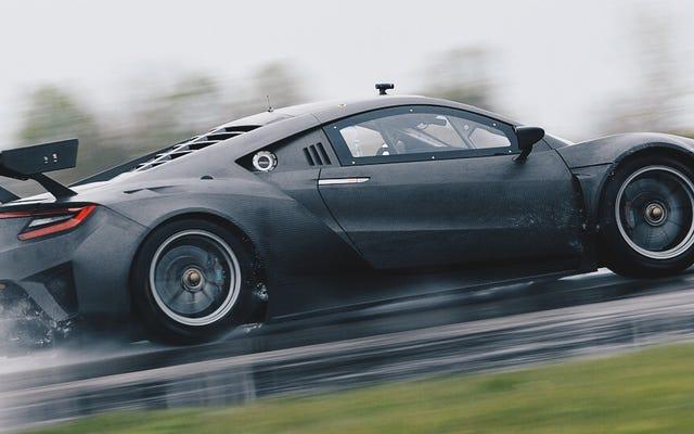 L'Acura NSX GT3 est une délicieuse beauté en fibre de carbone sur fibre de carbone