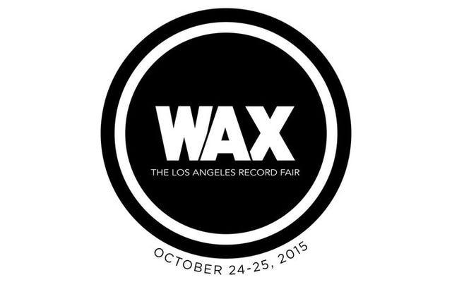 ロサンゼルス、史上初のワックスレコードフェアへの週末パスを獲得