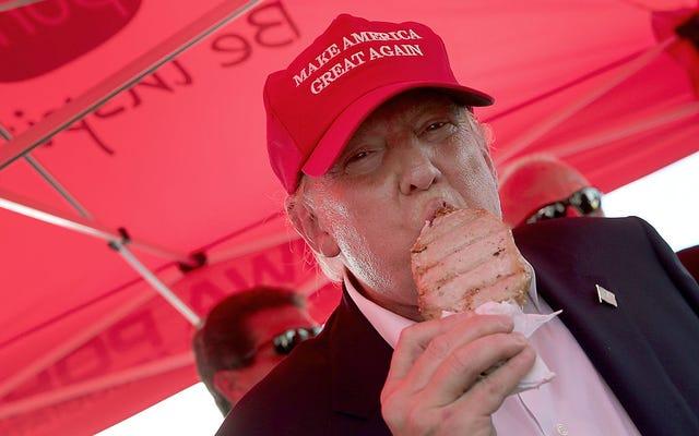Le régime alimentaire riche en viande de Trump ne joue pas si bien en Inde