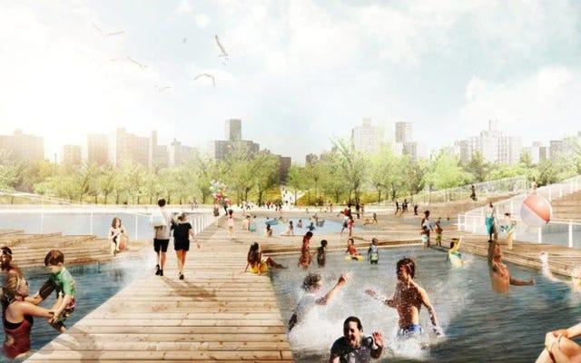 NYCのエレガントな防風提案はおそらく「大きなダムの壁」になるでしょう