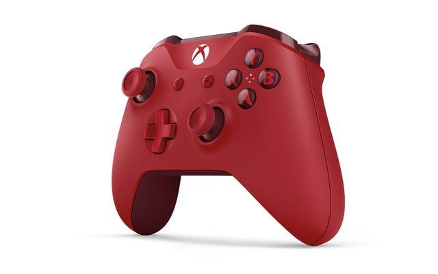 Der neue rote Xbox One-Controller sieht aus wie Süßigkeiten und ich möchte ihn essen