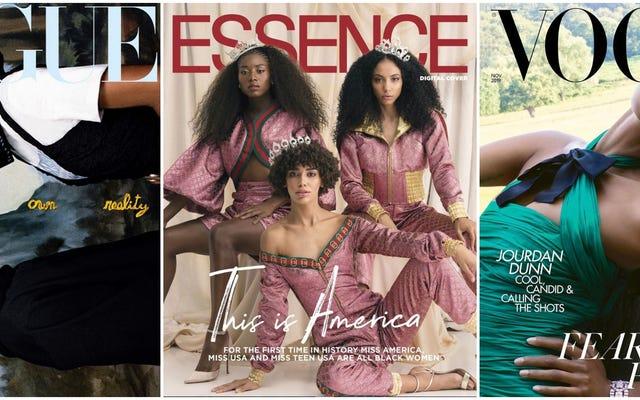 La realeza en nuestro ADN: una nueva cosecha de portadas de revistas nos hace majestuosos