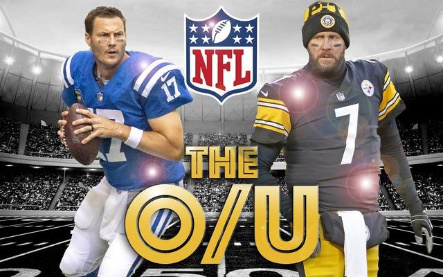 Deadspin NFL ओवर / अंडर बेट ऑफ़ द वीक: कोल्ड टेम्परेचर रिवर्स को रोक सकता है