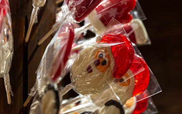 Last Call: Existe-t-il des bonbons de Noël?