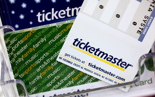 チケットマスターは、顧客のほぼ5%に影響を与える違反を開示します