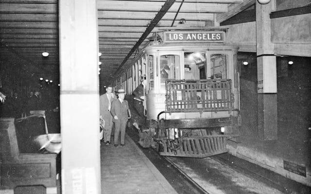90年前、この失われたトンネルでロサンゼルスの地下鉄が誕生しました
