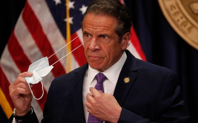 न्यू यॉर्क के अटॉर्नी जनरल ने जांच करने के लिए कहा कि क्या एंड्रयू क्यूमो ने महामारी पुस्तक के लिए राज्य संसाधनों का उपयोग किया है