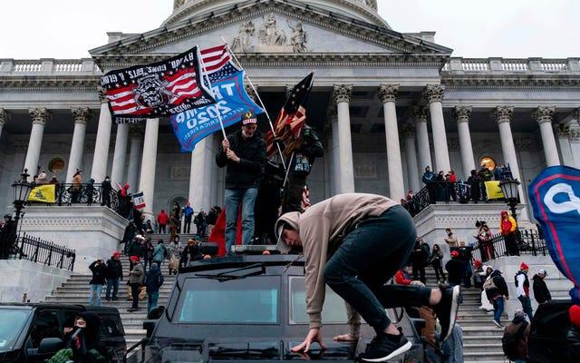どうやら一部の当局者は、暴動で州兵を呼ぶことは悪い「光学」だろうと思った