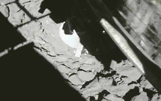 Un video drammatico mostra il momento in cui Hayabusa2 ha fatto il suo secondo touchdown sull'asteroide Ryugu