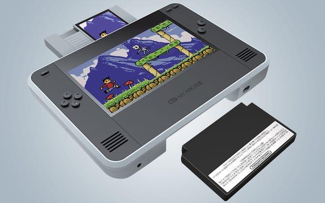 Le RetroChamp transforme la NES originale en un ordinateur de poche tout-en-un inspiré de la Nintendo Switch