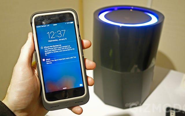 मिडएयर में एक आईफोन चार्जिंग सबसे अच्छा सीईएस डेमो है जिसे मैंने कभी देखा है